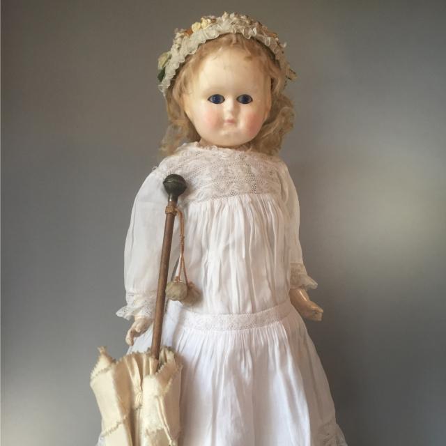 Wax-Over-Puppe   Verkaufs-Nr. 009